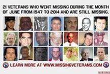 JUNE MissingVeterans.com / U.S. Veterans who have gone missing during the month of June. http://www.missingveterans.com/2016/veterans-who-went-missing-during-the-month-of-june-as-of-june-2016/