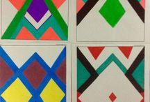 Full touch- By EM / Trabajos hechos a mano con marcadores, colores y acuarelas
