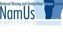NamUs - National Missing and Unidentified Persons System / Information about NamUs - via UNT Forensic Services Unit: Anyone can submit a missing person case to the NamUs system, although they won't appear in the online database until the report is verified through local law enforcement. Once that happens, family and friends of a missing person can start submitting more information to be put into the file, which can be everything from last known location or photos of the individual to DNA collection from family members.