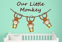 Nursery/Kids Room Wall Decals / Wall Decal World has a wide selection of Nursery wall decals that make decorating simple. From boys to girls to sports to flowers to trees, we have it all!