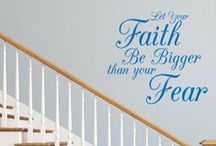 Quotes Wall Decals / Wall Decal World has over 100 different quotes to pick from! On top of that you can even create your very own unique quote.