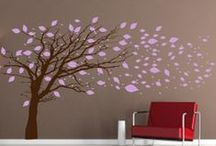 Tree Wall Decals / Tree Wall Decals are the perfect addition to any room! Our trees range from nursery to living room to office! We have something for everyone with unique trees. / by Wall Decal World