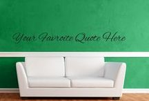 Custom Decals / by Wall Decal World