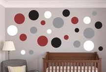Polka Dot Wall Decals / by Wall Decal World