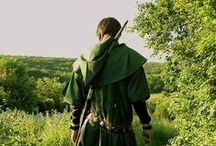 Larp costume - forest outlaw.  / I'm playing in a Robin game and looking to play in the Greenwood section of the Rose and the Dragon so I might be able to mix and match some costume elements.