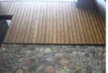 INSPIRACJE MATERIAŁOWE / materiały- drewno, kamień itp