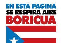 EL BORICUA / Puerto Rico my birth place / by Juan R