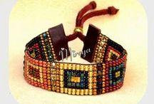 SQUARE STITCH BEADING / Bead Weaving