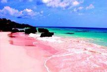 Hot destinations... / summer, travel, landscapes, beaches, holidays