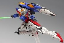 Gunpla works / Gundam plastic model works