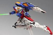 Gunpla works / Gundam plastic model works