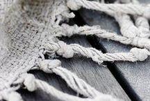 DECO | linen + wood + white