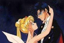 55 bunny & Mamoru romance-Sailor Moon and Tuxedo Mask