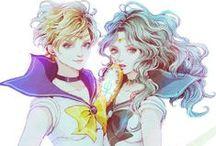 55 Haruka & Michiru romance