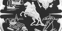 Монеты. Санкт-Петербург / Архитектурные памятники и достопримечательности города на монетах