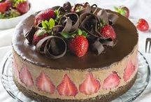 Cake Time! / Cakes, cakes and more cakes! No bake, simple ones, vegetarian, flourless, eggless, 3-tier, birthday cakes, wedding cakes! | happyfoodstube.com