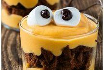 Halloween Foods / Halloween recipes. Trick or treat? | happyfoodstube.com