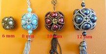 BEADED BEADS TUTORIALS / Bead weaving