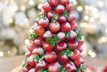 A Taste of Christmas / A collection of yummylicious Christmas foods: Christmas drinks, Christmas cookies, Christmas cakes, Christmas dinner + Edible Christmas gifts and more..... | happyfoodstube.com