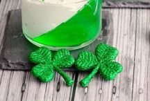 Green Recipes to Celebrate St Patrick's Day / Celebrate your St Patrick's Day with these delicious Irish recipes! Traditional Irish recipes and mostly in green color. Simple and fun way to taste Irish food. Shamrock, Leprechaun and Guinness. Kiss me i'm Irish :)