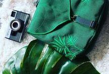 Green Leaf Bags / Leaflingbags - Etsy Shop Green Leaf bags Vegan fashion