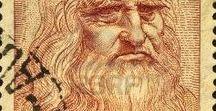 Марки. Леонардо да Винчи