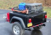 Bug Out Trailers / Bug Out Trailer Ideas for when it won't fit in your bug out bag