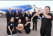 Birmingham inaugural route launches - 13 May 2013 / Here's some photos from our inaugural route launches at Birmingham airport on 13 May - celebrating the launch of routes to Gothenburg, Lyon and Toulouse.