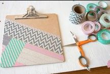 Washi Tape/ Craft Tape / Ideas and Inspiration of what to use your tape for!