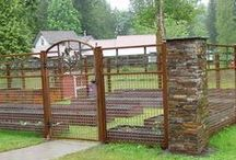 Garden Fences & Landscaping / Ideas for garden fences and landscaping