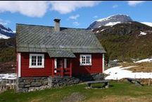 Stuga! Swedish Cabins / Classic Swedish Falun red summer cottages and holiday homes.