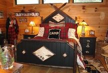 Cabin Decor / It's all about the details....