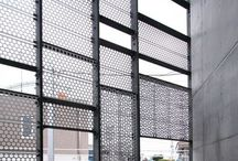 perforated facades