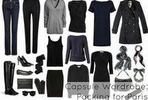 Wardrobe essentials.