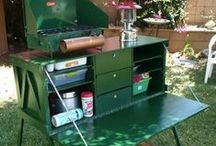 Chuck Boxes and Portable Kitchens / Ideas for portable kitchens for camping and bugging out