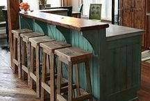 Rustic, Reclaimed and Industrial / Rustic, reclaimed and industrial ideas for home and cabin