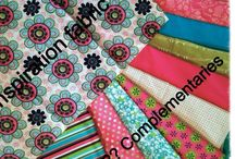 Craft room decor ideas for my color palet.. Lime green, bright turquoise, hot pink and chocolate brown...with mahogany & brown furniture. / Redoing a bedroom into a craft room! Pinspiration NEEDED!! Fabric I based this off of is on the board, why I chose it I don't know except it was bright & cheery (& available at Walmart, the only place I get to regularIy) but I'm committed now or need to be!  Thanks for any input, to  my awesome family and to my blessed friends. Furniture will be mahogany or espresso. HELP!