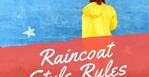 Raincoat Style Rules / Raincoats for women, osregn raincoat, crinkle raincoat.