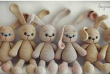 Crochet - Cuddly/Plushy toys and dolls