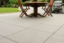 Granite / Granite-effect porcelain paving from PrimaPorcelain. This range is ideal for a natural, unrefined stone effect!