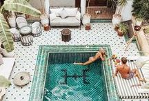 MOROCCAN BUNGALOW / Moroccan vibes in these boho homes