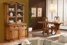 Interiores marrones / Pintura y decoración de interiores en tonos marrones, naturales o tierra