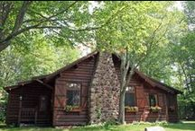 Vintage Cabins / Classic Cabins they way they use to be....simple....rustic
