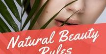Natural Beauty Rules / Essential oils, cream recipe, face mask recipe.