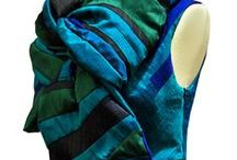 UPCYCLING: KAY MUTO scarfamorph / Our recycling upcycling project, made from the fancy silk fabrics of the kay muto collection