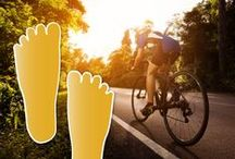 For the cyclists... / Throw your hands in the air if you love cycling! Dr. Harvey Danciger is an advocate for the healthy advantages cycling gives you. Lace up those shoes, strap on that helmet, and hit the rode! Pedal on down to our our office in Palm Desert, CA and treat your feet after that long ride.  http://www.coachellavalleypodiatrist.com/