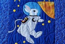 Baby quilts / Baby & youth quilts and project ideas I like