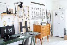 Work space / Työtila