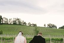 Weddings at Josef Chromy Wines / Selection of weddings, ceremony, table design, locations etc previously at taken.