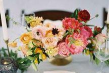 | in bloom | / floral centerpieces & wedding decor